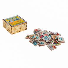 Магнитная азбука в картинках в коробке К-0554 1