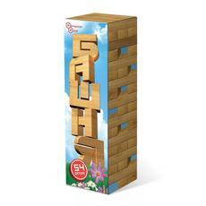 Башня Дженга 54 детали в картонной коробке ДНИ 119 1