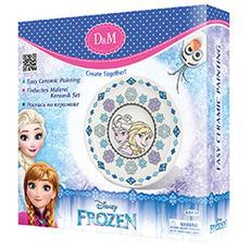 """Набор для росписи тарелки """"Принцессы"""" Холодное сердце 63871 1"""