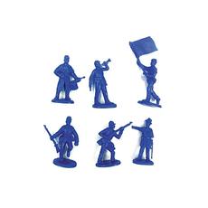 """Солдатики """"Воины"""" (6 шт. в наборе) И-7637 1"""