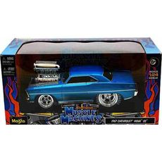 "1:24 Chevrolet Nova SS серия ""Muscle Machines"" 32239  1"