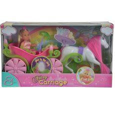 Кукла Еви в карете + лошадь, 12см 5735754 1