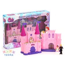 Замок для кукол с аксес. Звук. и свет. эффекты. Батарейки в компл. IT100325 в/к 44 1