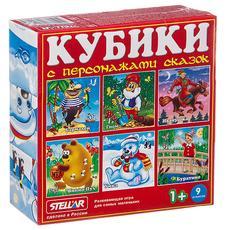 Кубики в картинках 07 (персонажи сказок) 0807 1