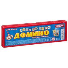 """Домино 00013 """"Любимые игрушки"""" в футляре 1"""