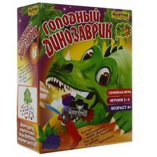 """Настольная семейная игра Ф72943 """"Голодный динозаврик"""" 1"""