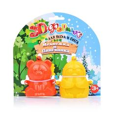 "3D Формочки 16011/16012 ""Медвежка и Пингвинка"" №1, №2 1"