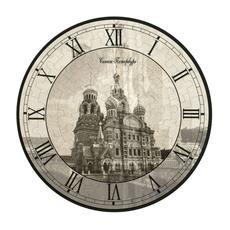 """УмБум126-19 Часы-пазл """"Спас на Крови"""" 1"""