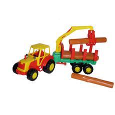 """Трактор """"Мастер"""" с полуприцепом-лесовоз 35295 1"""