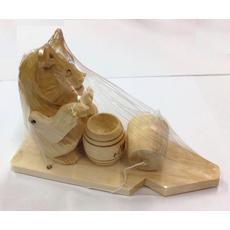 """Богородская игрушка """"Медведь с медом"""" 7894 1"""