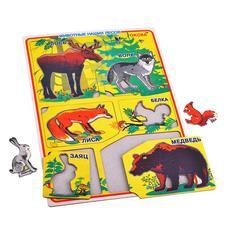 Рамка-вкладыш Звери / Животные наших лесов (Оксва) 1