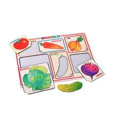 Рамка-вкладыш Формат А4 Овощи (Оксва) 1