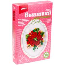 "Вышивка лентами ""Розы"" Лн-024 1"