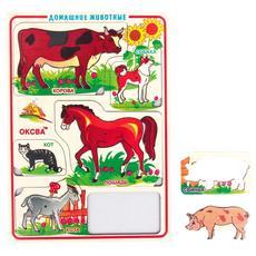 Разрезные вкладыши Дом.животные (Оксва) 1
