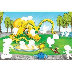 """Водная раскраска """"В парке"""" 43*29 см. 48149 2"""