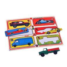 Рамка-вкладыш Автомобили (Оксва) 1