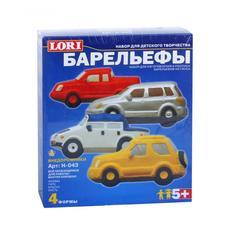 """Барельеф """"Автомобили внедорожники"""" Н043 1"""