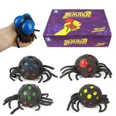 Игрушка жмяка-паук (слайм) Т14723 1