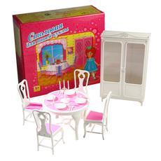 """Мебель для кукол пласт. """"Столовая"""" 0062 1"""