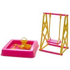 "Мебель для кукол пласт. ""Качели"" 0067 1"