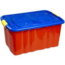Ящик для игрушек на колесиках 600*400*300 30100 1