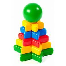 """Пирамида """"Треугольник"""" (12 деталей) 1115 1"""