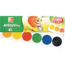 """Акварель """"Мини"""" 6 цветов без кисти 19С 1246-08 1"""