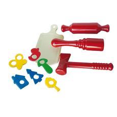 Кухонный набор (толкушка, скалка, молоток, доска разделочная, форм. ) У530 1