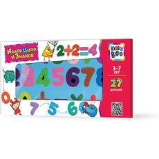 Набор цифр и знаков 27 дет. 47076 1