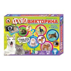 """Игра настольная. Фотовикторина """"Кошки и собаки"""" 03436 1"""