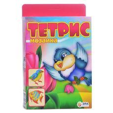 """Тетрис - мозаика """"Птичка и рыбка"""" C-379 1"""