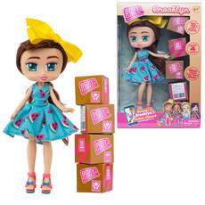 """Кукла """"Boxy Girls Brooklyn"""" 20 см. с аксессуарами в 4-х коробочках Т15108 2"""