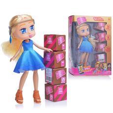 """Кукла """"Boxy Girls Willa"""" 20 см. с аксессуарами в 4-х коробочках Т15107 2"""