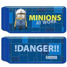 "Пенал карт 1-секц. ""Minions at work"" 31886 1"