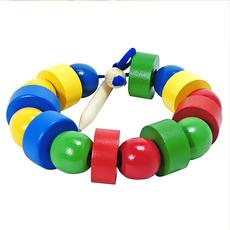 Бусы геометрические цветные (шарики и шайбочки) Д-568 1