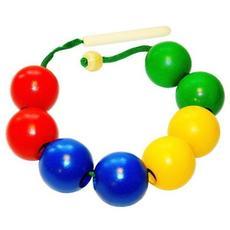 Бусы шары цветные (8 шт. ) Д-502 1