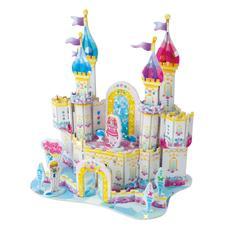 """3D-пазлы из пенокартона """"Алмазный замок"""" (мини серия) 34 дет. 689-2J 1"""