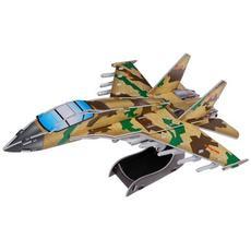 """3D-пазлы из пенокартона """"Военный самолет"""" ( 32 дет.) 589-2C 1"""