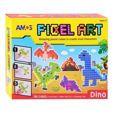 """Аква мозаика из пикселей """"Динозавры"""" 21510 1"""
