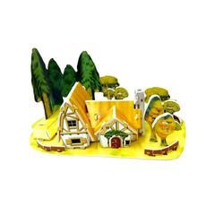 """3D-пазлы из пенокартона """"Лесной домик"""" (мини серия) 30 дет. 689-Z 1"""