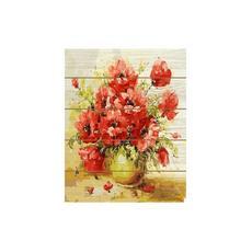 Картина по номерам (40х50) БУКЕТ МАКОВ (31 цвет) KH0069 1