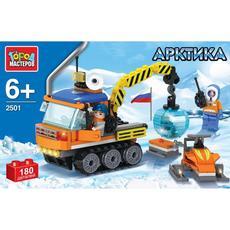 "Конструктор ""Арктика: вездеход и снегоход"" с фигурками 2501-R 1"