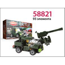 Конструктор ''Пушка 3М-120'' 93 эл. 58821 1