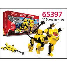 "Конструктор ""Triceratops"", 116 эл. 65397 1"