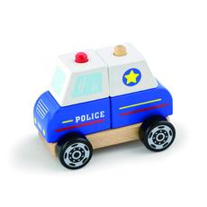 Сборная полицейская машина (дерево) 50201 1
