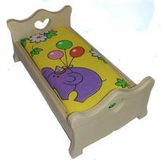 Кровать сердечко малая (дерево) МК-003 1