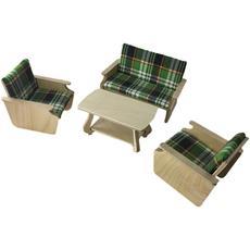 Набор мягкой мебели (дерево) МК-029 1