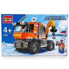 """Конструктор """"Арктика: вездеход-кран"""" с фигуркой, 168дет. 2502-R 1"""