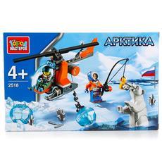 """Конструктор """"Арктика: вертолет"""" с фигурками 85дет. 2518-R 1"""