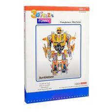 """3D-пазлы из пенокартона """"Робот воздушного десанта"""" 566-C (110 дет. 20*10*30 см) FUNNY 1"""